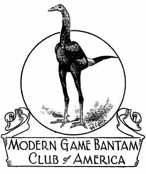 Welcome to the new website of the Modern Game Bantam Club of America!